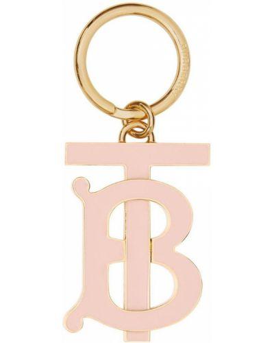 Брелок с логотипом розовый Burberry
