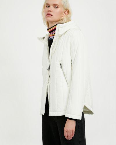 Теплая утепленная куртка айвори Finn Flare