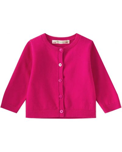 Розовая кардиган Bonpoint