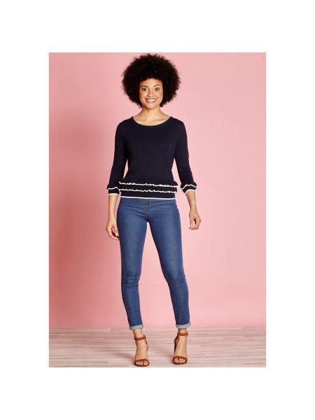 Пуловер из вискозы тонкий Yumi