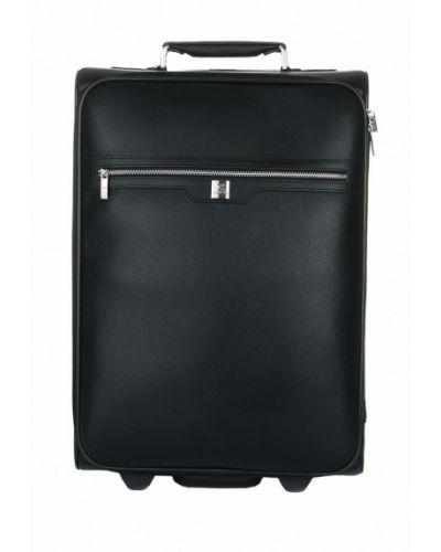 Черный чемодан Luxon