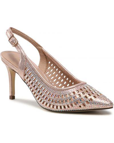 Różowe klasyczne sandały Menbur
