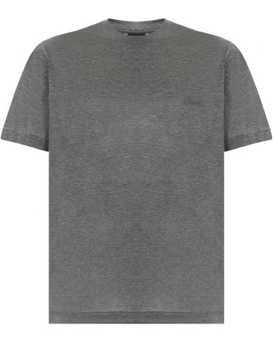 Szara t-shirt Brioni