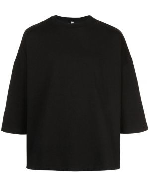 Черная футболка The Celect