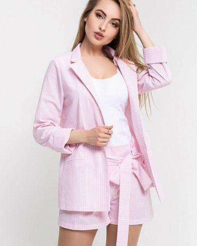 Костюм с шортами розовый Leo Pride