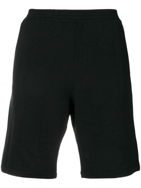 Спортивные шорты с карманами черные Versace