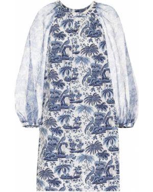 Летнее платье мини из поплина Staud