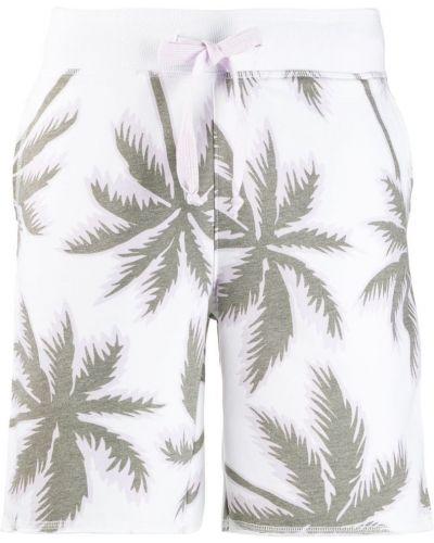 Спортивные шорты белые с карманами Juvia