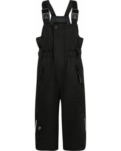 Черные утепленные брюки Poivre Blanc