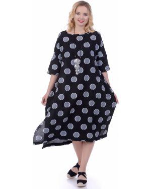 Летнее платье футболка в стиле бохо Lautus