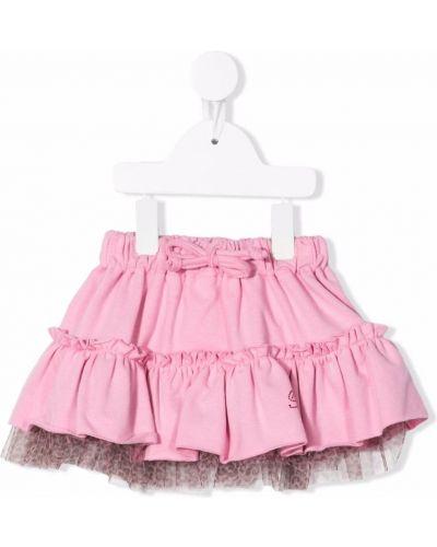 Spódnica tiulowa - różowa Miss Blumarine