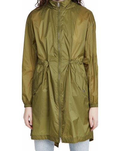 Зеленый нейлоновый дождевик с карманами Rag & Bone