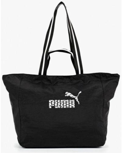 Черная сумка с ручками Puma