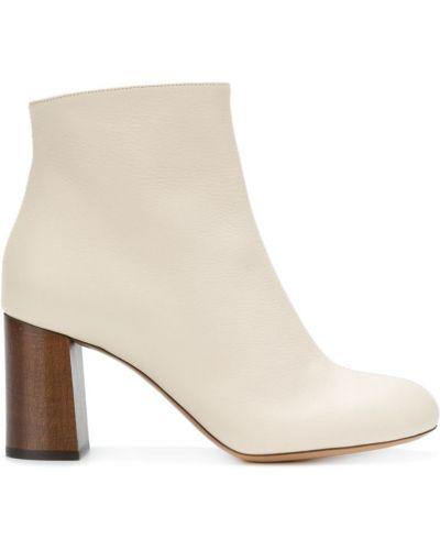 Бежевые ботинки Chloé