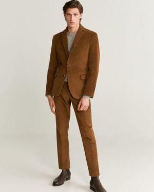 Пиджак вельветовый с карманами Mango