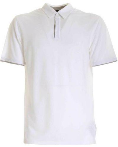 Biała koszulka Zanone