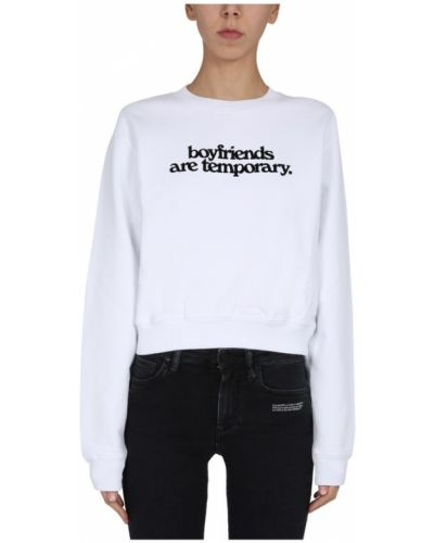 Bluza bawełniana z printem Off-white