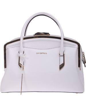 Кожаная сумка - белая Cromia