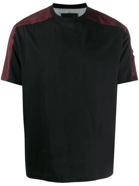 Koszula krótkie z krótkim rękawem prosto z kieszeniami Prada