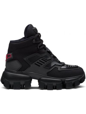 Sneakersy - czarne Prada