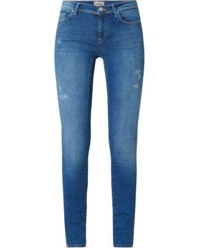 Niebieskie jeansy bawełniane Only