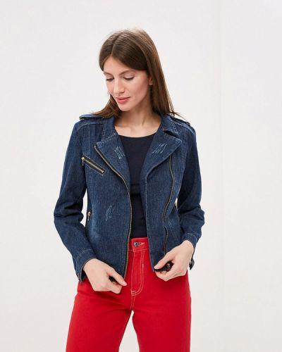 Джинсовая куртка весенняя синий Moon River