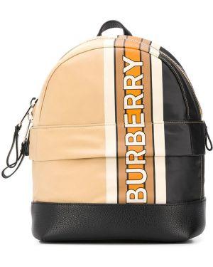 Рюкзак с логотипом маленький Burberry Kids