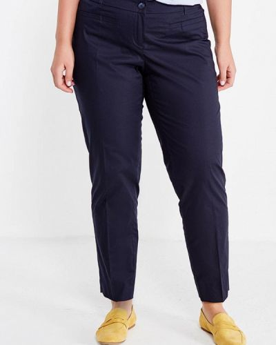Классические брюки синие Fiorella Rubino