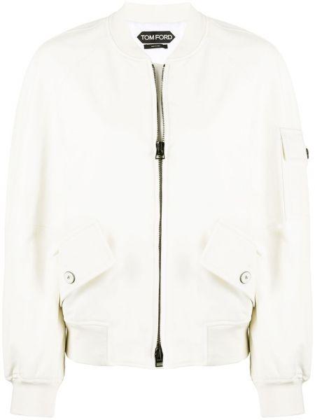 Куртка на молнии с карманами Tom Ford