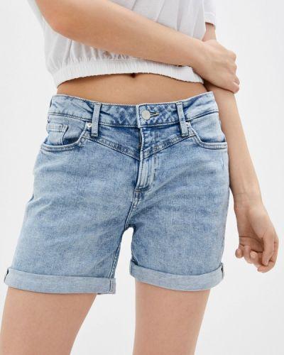 Голубые джинсовые шорты Q/s Designed By