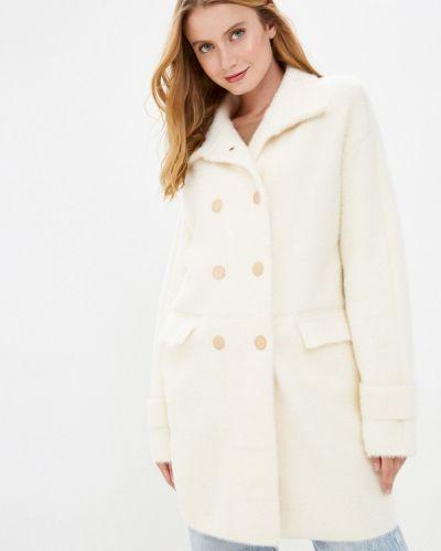 Белое пальто Grand Style