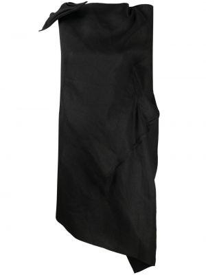 Блузка без рукавов - черная Yohji Yamamoto