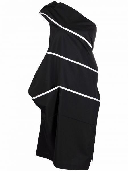 Biała sukienka midi asymetryczna 132 5. Issey Miyake