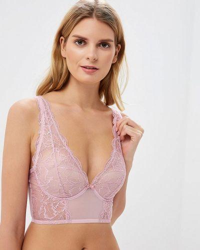 Бюстгальтер розовый Дефиле
