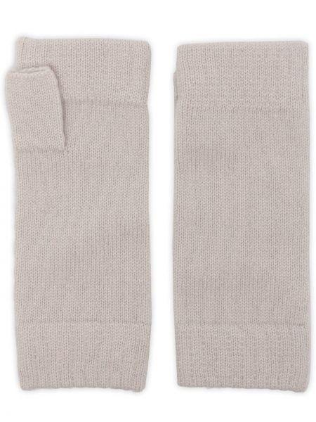 Rękawiczki bez palców - białe N.peal