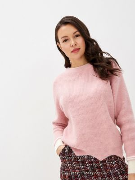 Свитер весенний розовый Fresh Cotton