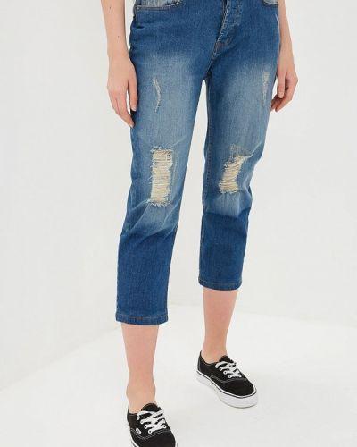 Прямые джинсы синие Sh