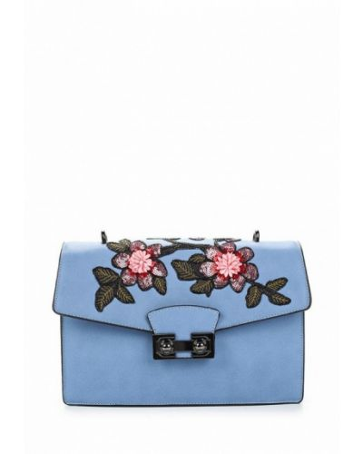 Голубая сумка Zarina
