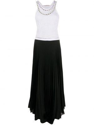 Sukienka rozkloszowana - biała Christopher Kane