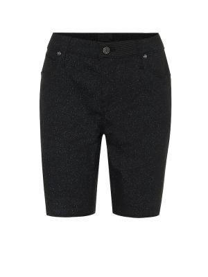Джинсовые шорты черные теплые Rta