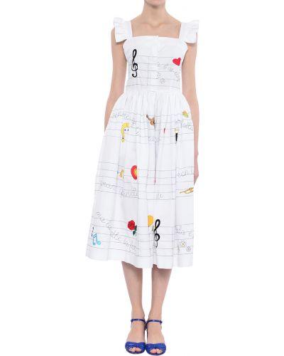 Хлопковое платье - белое 10x10anitaliantheory