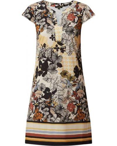 Sukienka rozkloszowana krótki rękaw - biała More & More
