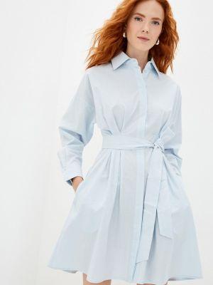 Голубое весеннее платье Doroteya
