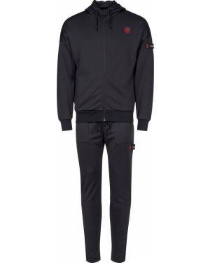 Хлопковый спортивный костюм - черный Plein Sport