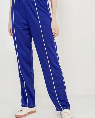 Синие спортивные брюки Topshop