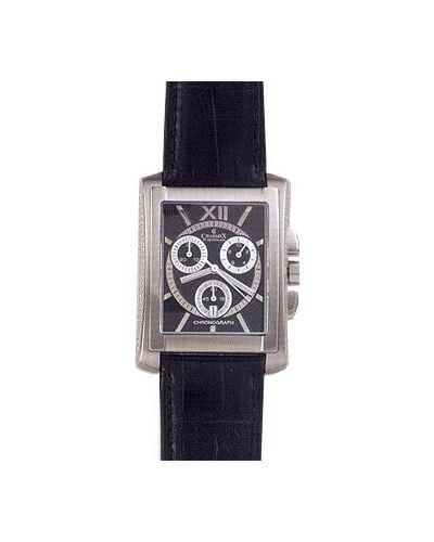 Часы водонепроницаемые швейцарские черный Charmex