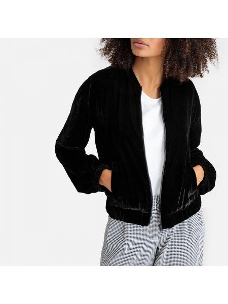 Куртка на молнии велюровая La Redoute Collections