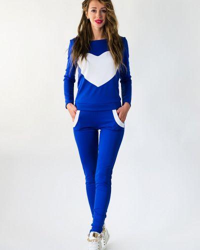 Спортивный костюм синий Подіум