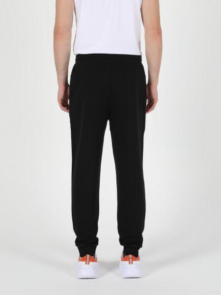 Черные спортивные брюки Colin's