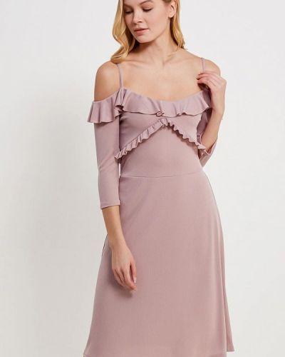 Розовое платье мини Lost Ink.